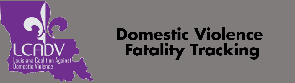 Domestic Violence Fatality Tracking Logo