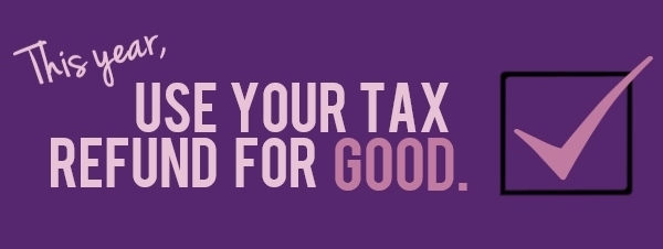 LCADV Put your state tax refund to work by donating it to LCADV.